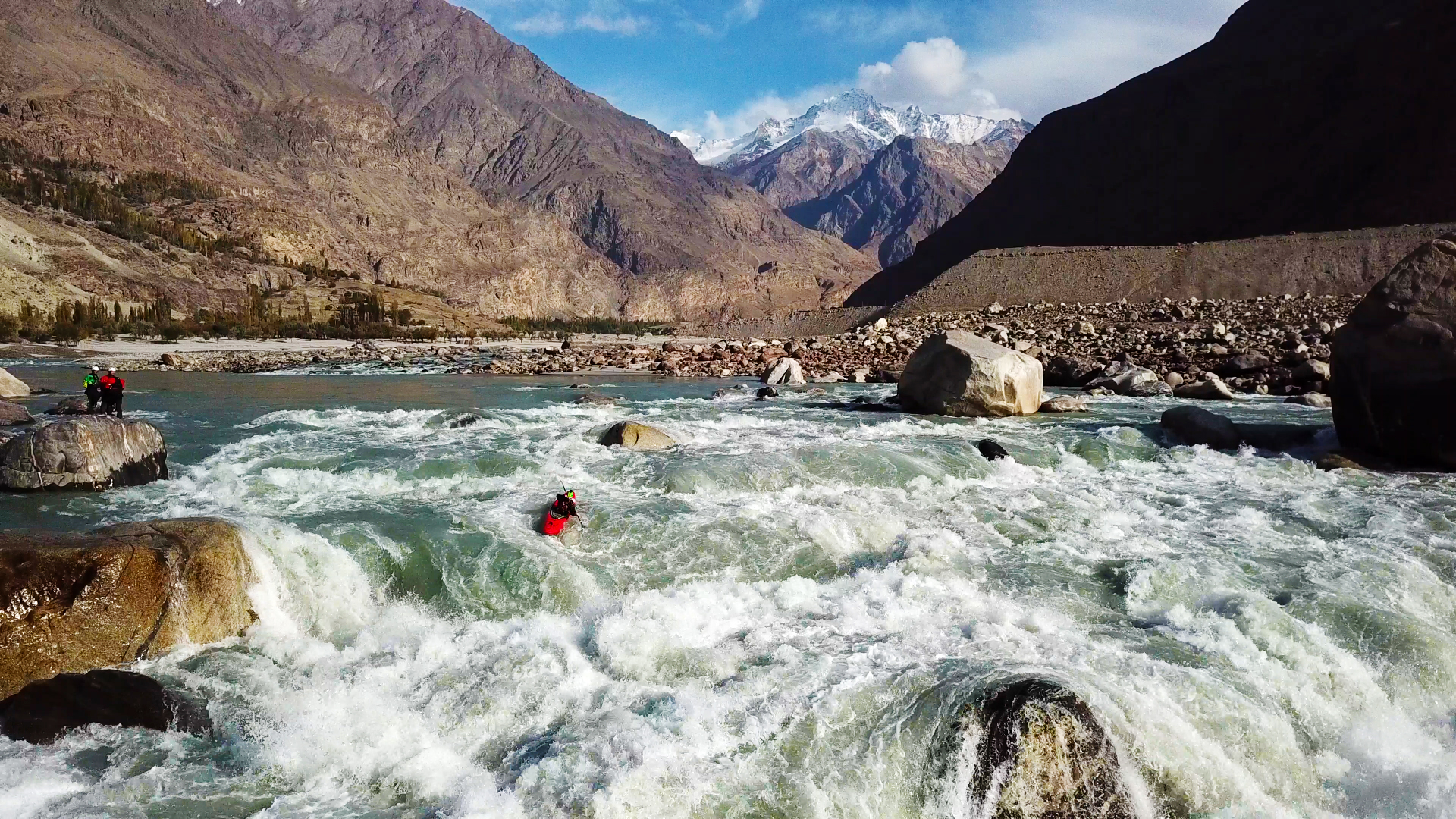 řeka Indus, Dag Sandvik